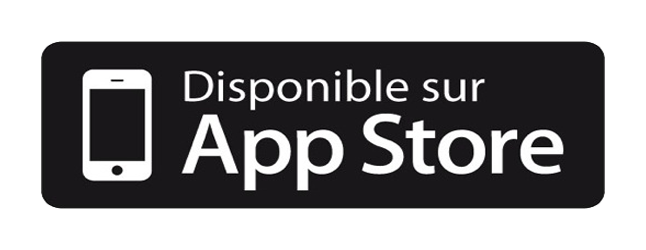 Disponible sur Apple Store
